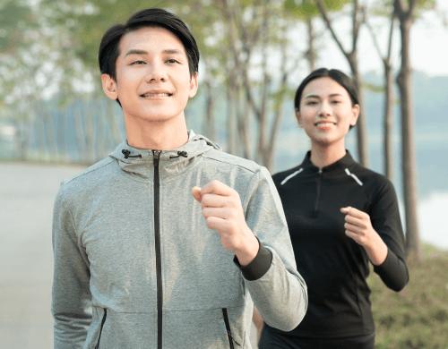 地域の人々の健康寿命の上昇